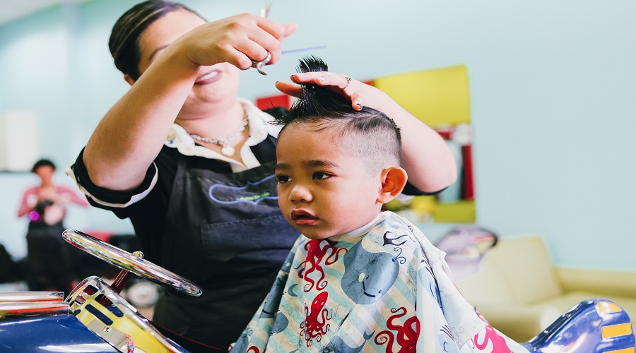 Kidshaircut at Labelle hair and beauty salon