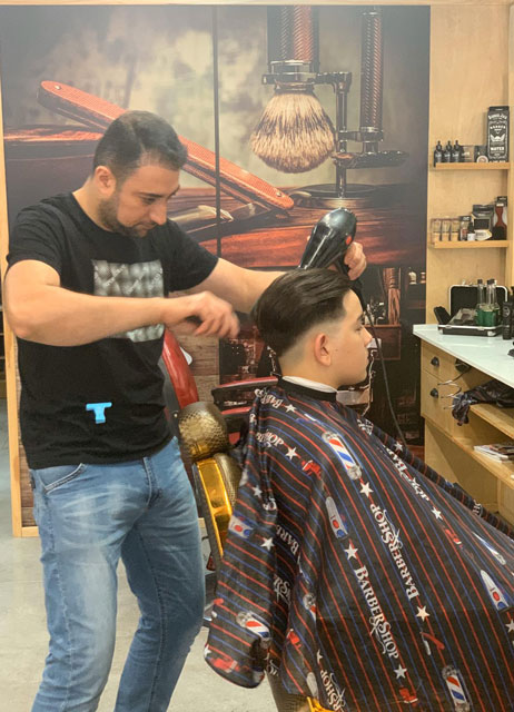 Mens hairdresser at Redfern and Waterloo