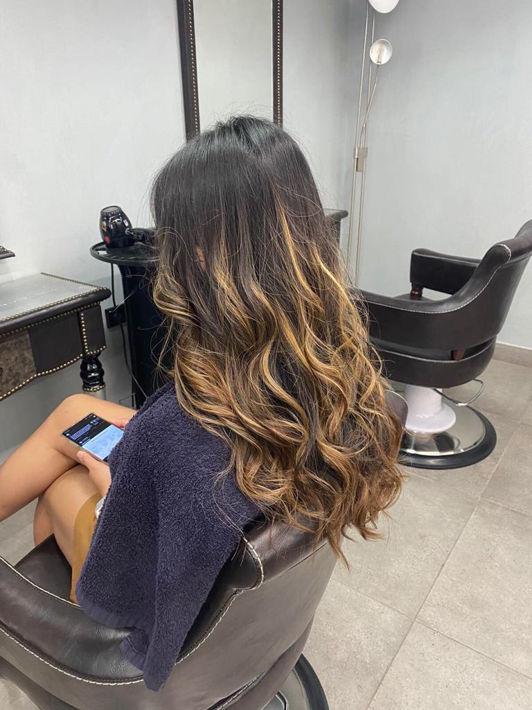LA BELLE HAIR & BEAUTY BLONDE labelle beautiful girl
