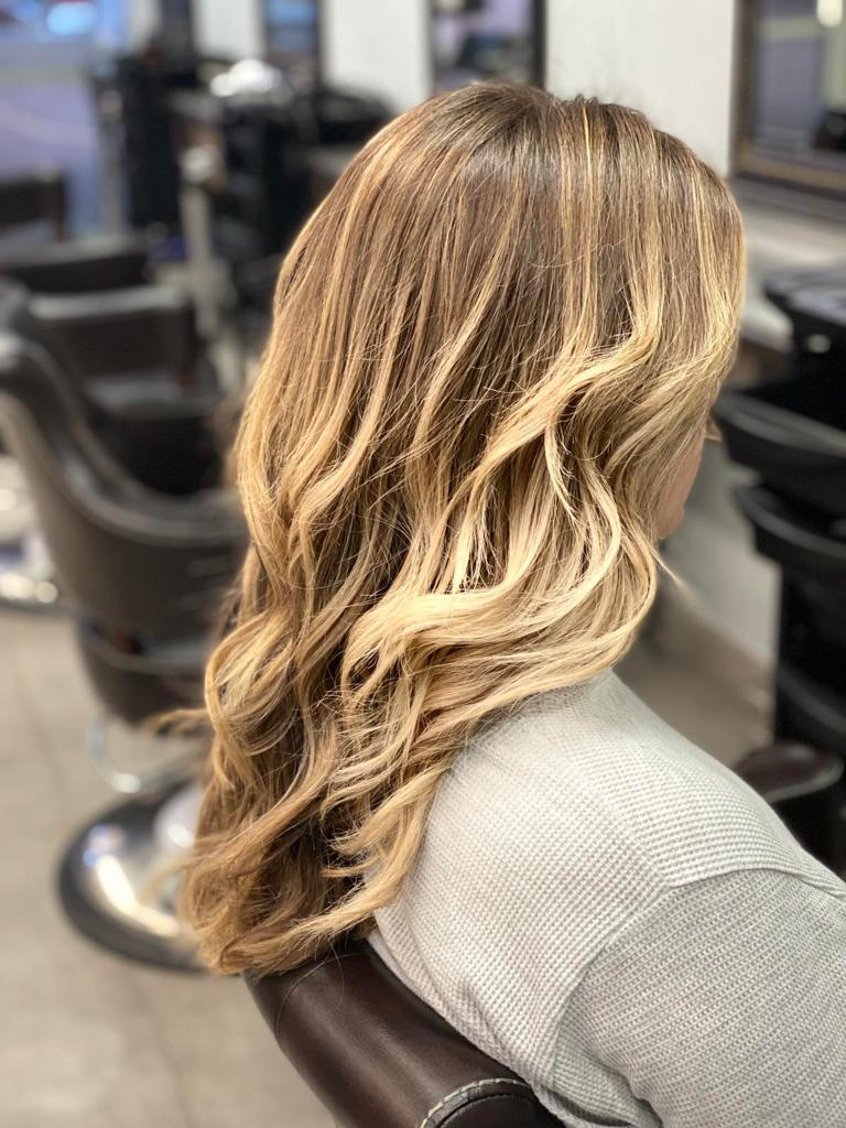 Ombre at La belle Hair and Beauty Salon