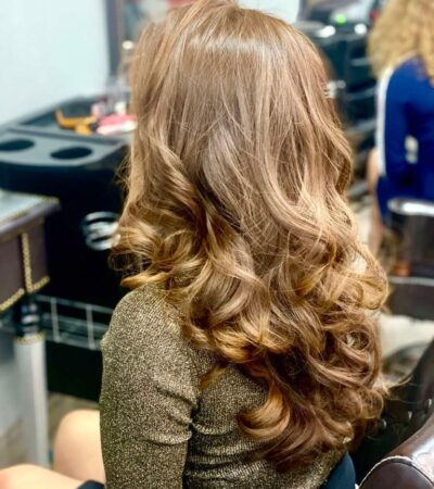 stunning color and blow dry at labelle hair beauty